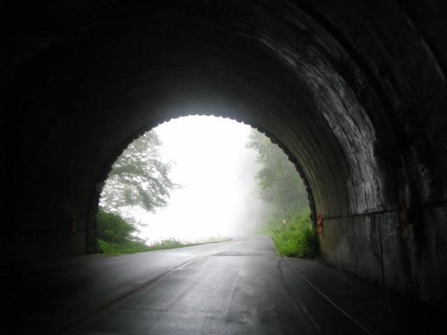 Tunnel in Smoky Mountains